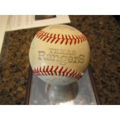 1975 Texas Rangers Team Signed Commemorative Ball